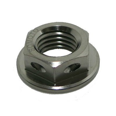 Titanium Broadside Drill Nut
