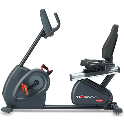 Recumbent Bike R8 E (Black)