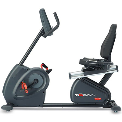 Recumbent Bike R8 E Plus (Black)