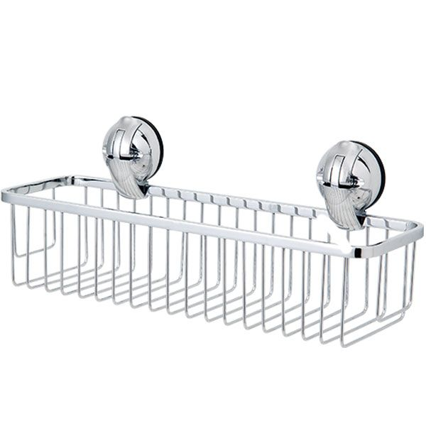 Multifunctional Stainless Steel Basket L w/Suction Pad C505001L