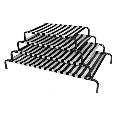 (P11101~P11104) Classic Dog Bed - Black & White