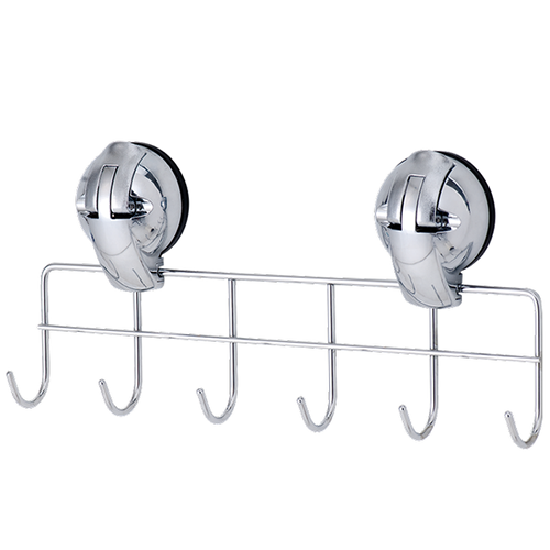 Multiple Hanger-6 Hooks w/ Suction Pad - C502002