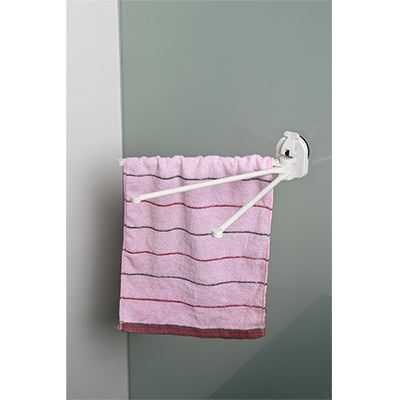 3 Bars towel Holder w/ Suction Pad - C504001