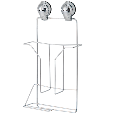 Magazine / Toilet Paper Shelf w/ Suction Pad - C505014