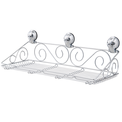 S Shape Multifunctional Shelf w/ Suction Pad - C507002