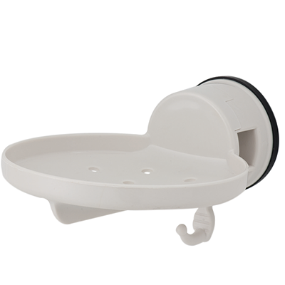 Soap Plate w/ Hook w/ Suction Pad - C501002