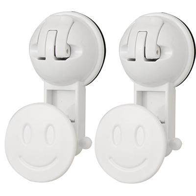 Smile Hanger w/ Suction Pad - C516007