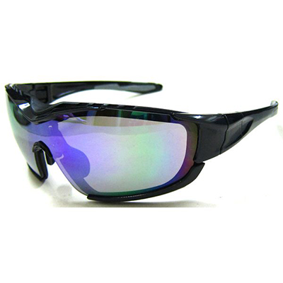 Mens Sport Full Shield Wrap Around Polarized Outdo Sports Sunglasses