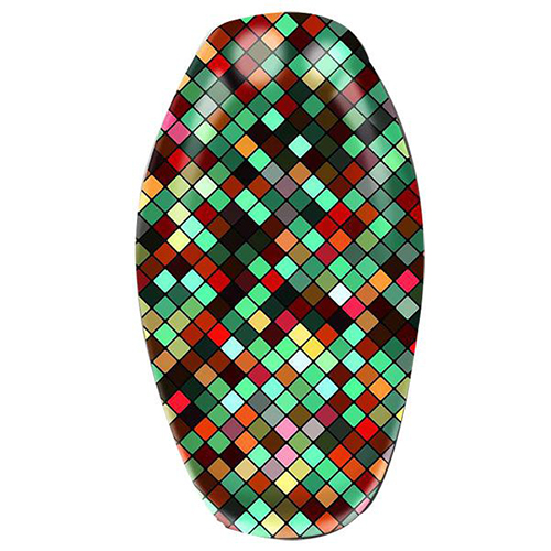 Motorcycle Seat Cover Mosaic tile - YY0005