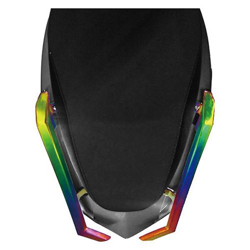 Metal Rear Handle Bar - Colored Titanium