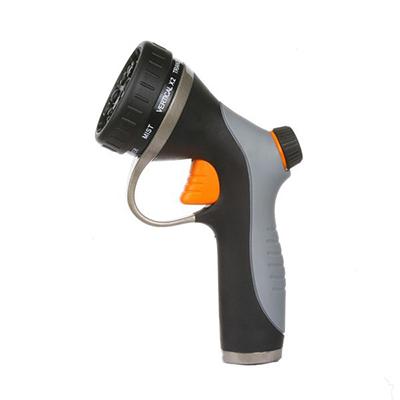 One-Click Trigger Adjustable Mental Garden Sprayer Nozzle
