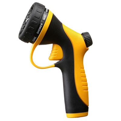One-Click Trigger Adjustable Plastic Garden Sprayer Nozzle