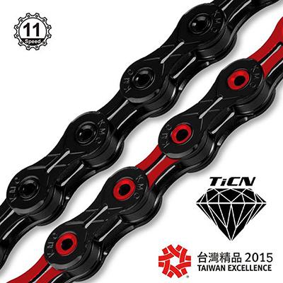 Bicycle Chains DLC11 ( Downhill / MTB / CX / Road )
