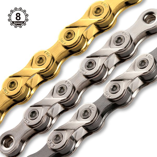 Bicycle Chains X8 ( Sharing / IGH / City & Comfort / eBike / MTB )