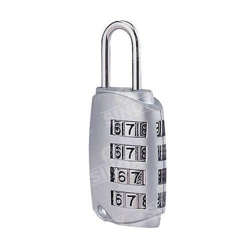 PL381 Zinc Alloy 4 dials Combination Padlock Made in Taiwan