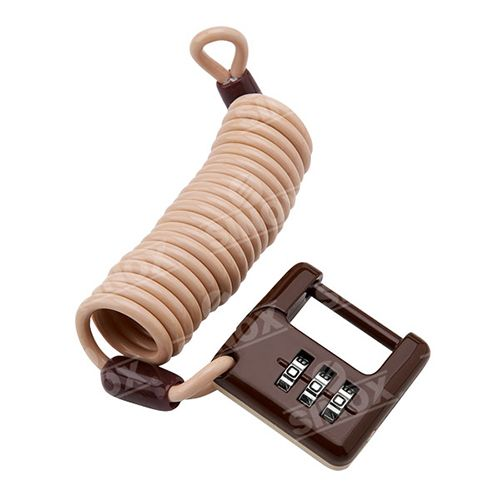PL750 Leash Zinc Alloy 3 dials Combination Padlock