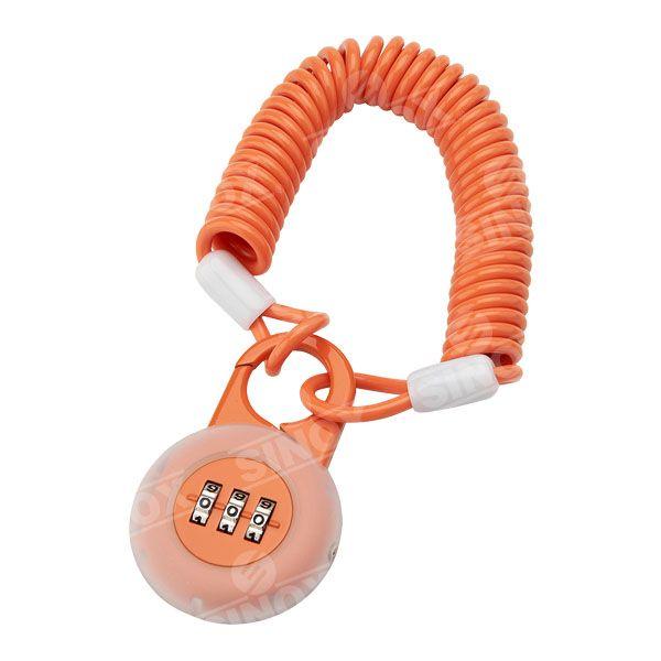PL755 Leash Zinc Alloy 3 dials Combination Padlock