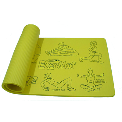 NBR Exercise Mat With Printing NBR-2472-E10-P