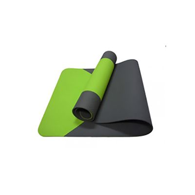 Two-tone Eco-friendly POE Yoga Mat POE-2472-Y5-2G-B