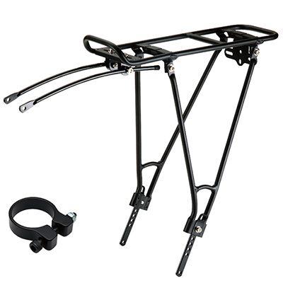Lightweight Aluminum Bike Rear Rack
