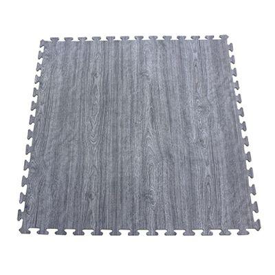 EVA foam wood printed floor mat