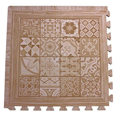 EVA foam wood printed mat type C
