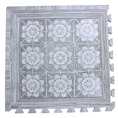 EVA foam wood printed mat type D