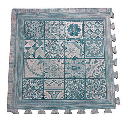 EVA foam wood printed mat type E
