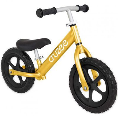Cruzee Balance Bike for Children - Gold