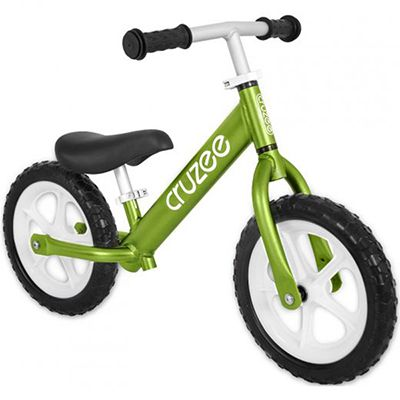 Cruzee Balance Bike for Children - Green