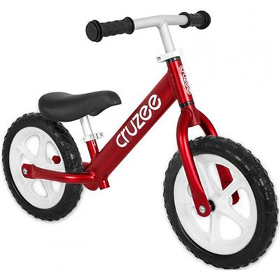 Cruzee Balance Bike for Children - Red