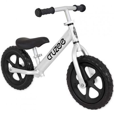 Cruzee Balance Bike for Children - Silver