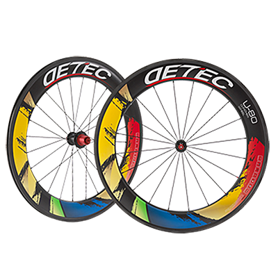 700C Clincher U Series Wheelset DETEC U-80 Italianate