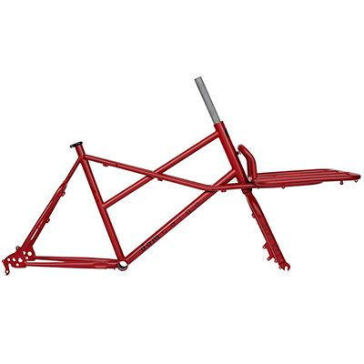 Tpack CargoRed Footer 2x Frame Set