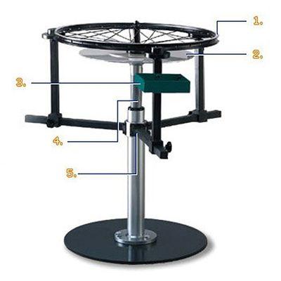 Floor Type Wheel Building Stand