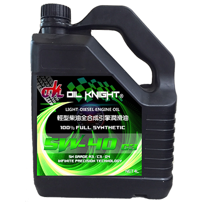Oil Knight-Diesel Engine Oil SN/CF C3-04 5W-40