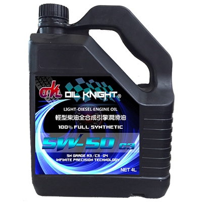 Oil Knight-Diesel Engine Oil SN/CF C3-04 5W-50