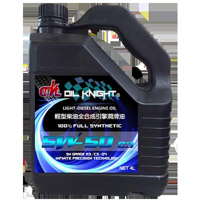 Oil Knight-Diesel Engine Oil SN/CF C3-04 5W-50