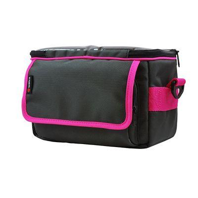 Pink Square Handlebar Bag