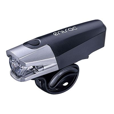 10 Watt 500 Lumen Super Bright LED USB Bike Headlight, Side Visibility, Battery Status Light