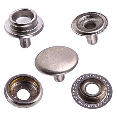 Metallic Snap Buttons HC-08-01