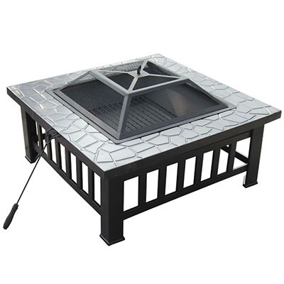 Square Table Fire Pit VLD-039-1