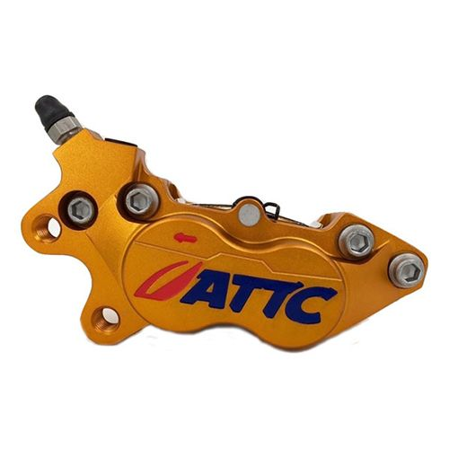 Attc 4 Pistons Brake Caliper2_Burned