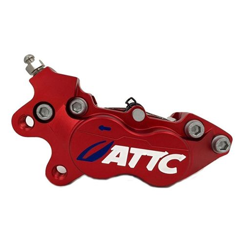 Attc 4 Pistons Brake Caliper3_Burned