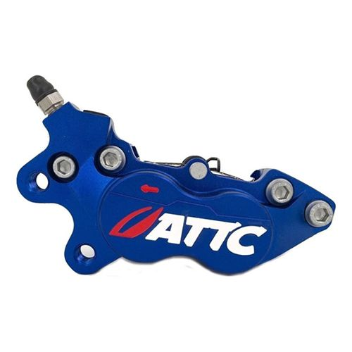 Attc 4 Pistons Brake Caliper4_Burned