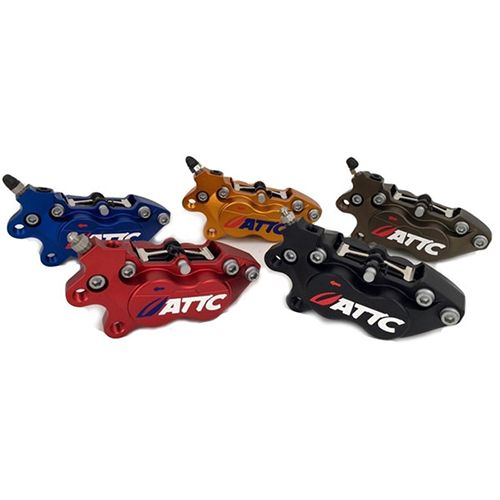Attc 4 Pistons Brake Caliper6_Burned