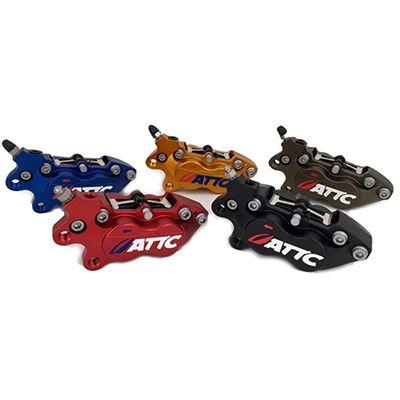 Attc 4 Pistons Brake Caliper6_Burned
