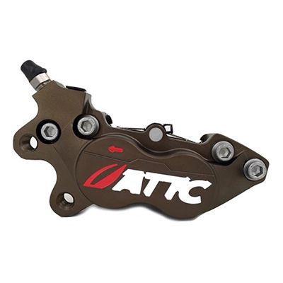 Attc 4 Pistons Brake Caliper1_Burned