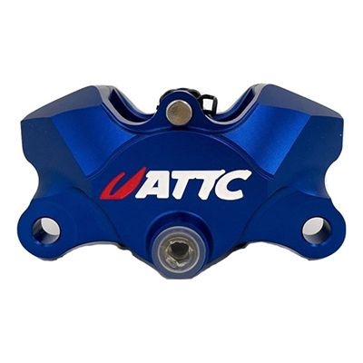 Attc CNC 4 Pistons Brake Caliper5_Burned