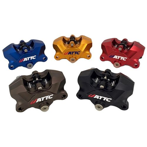 Attc CNC 4 Pistons Brake Caliper6_Burned